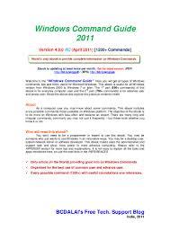 windowscommandguide2010 100511013309 phpapp01 thumbnail 4 jpg cb u003d1303959838