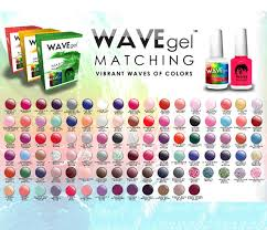perfect match colors wavegel matching match color gel duo set with same color polish 0 5