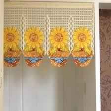 Sunflower Yellow Curtains The Perks Of Sunflower Kitchen Curtains Blogbeen