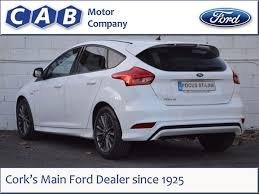 ford focus diesel used ford focus 2017 st line 2 0tdci 150ps for sale in cork