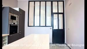 cloison vitree cuisine création d une verrière type atelier artiste verrière cuisine