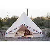 Bell Tent Awning Amazon Com Danchel 100 Cotton Bell Tent With Awning And Two