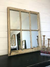 Ideas Design For Arched Window Mirror Wall Mirrors 20 Ideas To Reuse And Recycle Old Wood Windows And