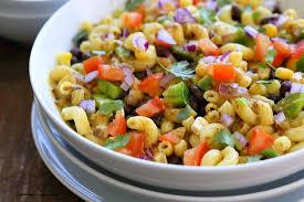 southwestern pasta salad with black bean dressing vegan richa