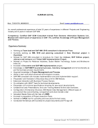 Sap Sd Support Consultant Resume Gsm Simulation In Matlab Thesis Pay To Do World Affairs Curriculum