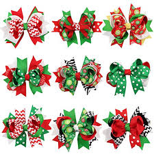 best christmas hair bows 2016 2017 top reveal