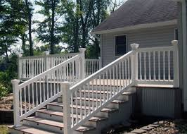 decks u0026 railing u2014 indiana fence u0026 rail