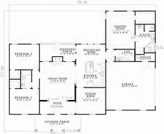 2 Bed Bungalow Floor Plans One Story House Plans 1500 Square Feet 2 Bedroom Square Feet