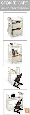 Stokke Baby Changing Table Stokke Care Converts From Changing Table To Bookshelf To Desk