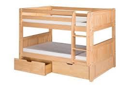Low Bunk Beds Amazoncom - Lo line bunk beds
