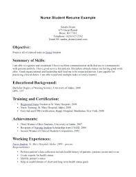resume exles nursing nursing resume objective statement exles