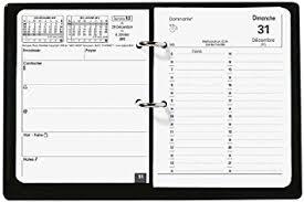 bureau en gros agenda quo vadis bloc planing agenda civil 1 jour sur 2 pages 11 5x14 5cm