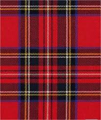 the best known of all scottish tartans the u0027royal stewart
