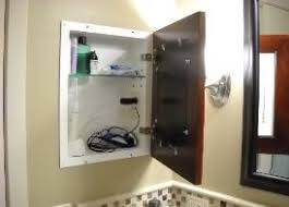 medicine cabinet with electrical outlet awesome medicine cabinet with electrical outlet 96 in modern sofa