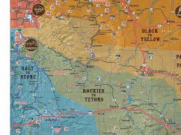 wy map map travel wyoming that s wy