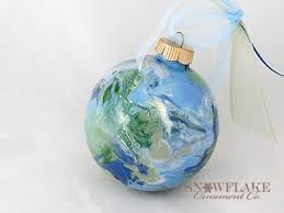 peace on earth ornaments personalized glass ornaments