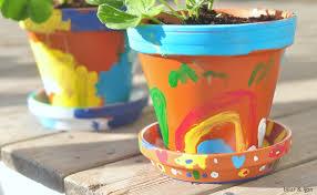 amazing flower pot decoration ideas for kids decorating ideas