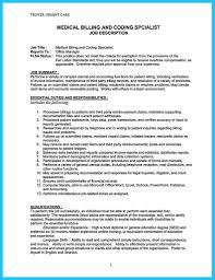 jobs resume nyc medical billing manager job description sample and medical billing