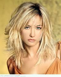 shoulder length hairstyles fine haired women in their 40s medium length hairstyles for fine hair with bangs medium