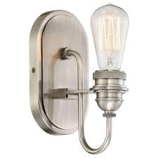 uptown edison 1 light bath light by minka lavery ylighting