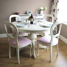 second hand table chairs dining chairs awesome shabby chic dining chairs ebay shabby chic