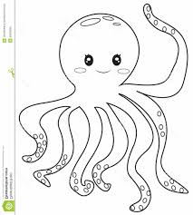 octopus coloring page for preschoolers coloring pages kids