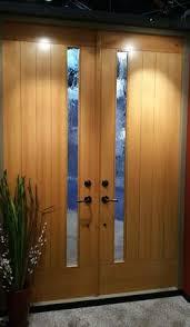 Sapele Exterior Doors Custom Flush Door In Douglas Fir And Sapele Mahogany 2017