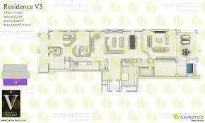 Interior Floor Plans by Residences At Vizcaya Floor Plans