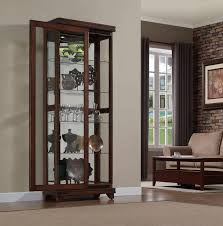 wooden glass door dark wood glass display cabinets 51 with dark wood glass display