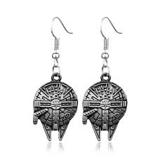 wars earrings hot american wars earrings millennium falcon