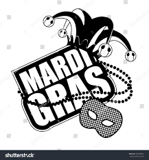 black and white mardi gras masks mardi gras mask icon black white stock vector 168185681