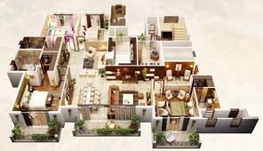 square footage visualizer 4 bedroom apartment house plans deezner