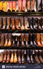 shop boots usa usa colorado aspen cowboy boots kemo sabe shop stock photo