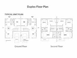 duplex floor plan one tanguile place u2013 brokermanila