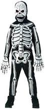 amazon com rubies glow in the dark skeleton child costume small