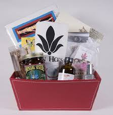 new gift baskets house locally inspired gift baskets cue magazine gambit