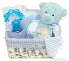newborn gift baskets newborn baby boy blue gift basket buy in slough