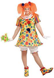 clown costume giggles the clown plus size costume giggles the clown plus costumes