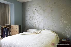 home interior paintings remarkable and excellent hand painted flower silk wallpaper for