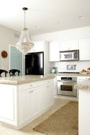 jenna sue design stunning white and gray kitchen with white