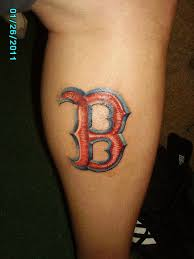 my red sox tattoo redsox