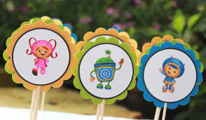 umizoomi cake toppers custom invites and designs by team umizoomi cupcake toppers