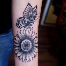 90 black and white sunflowers design ideas