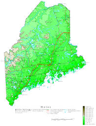 Map Of Maine Coast Maine Map Online Maps Of Maine State