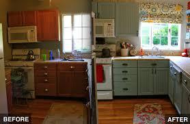 Diy Kitchen Cabinet Makeover Cool Design Ideas  Budget HBE Kitchen - Kitchen cabinet makeover diy