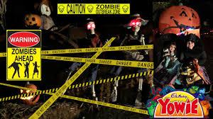 halloween zoo boo u0026 haunted train ride caution scary yowie