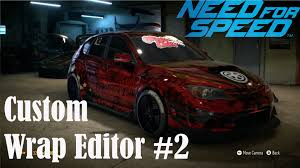 need for speed full game wrap editor subaru impreza wrx sti 2010