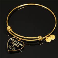 gold bangle bracelet design images Daddy 39 s little princess heart design gold bangle bracelet surgical png