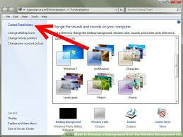 plus de bureau windows 7 how to remove a background from the desktop background list windows