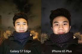 galaxy s7 edge vs iphone 6s plus which phone has the better camera